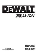 DeWalt DCS380 page 1