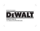 DeWalt DCS380-XE page 1