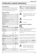 DeWalt DW933K2 page 5
