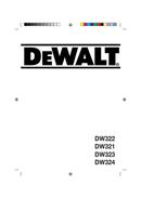 DeWalt DW324 page 1
