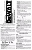 DeWalt DW318G page 1