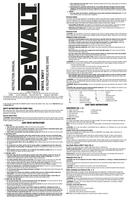DeWalt DW310 page 1