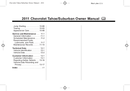 Pagina 2 del Chevrolet Suburban 0,5 Ton (2011)