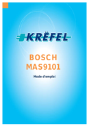 página del Bosch MAS9101N 1