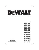 DeWalt D28750 page 1