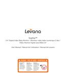 página del Levana Sophia 1