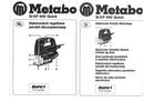 Metabo STEP 600 Quick sayfa 1