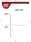 One for all URC 7110 Seite 1