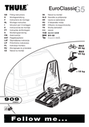 Página 1 do Thule EuroClassic G5 909