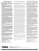 Página 5 do Thule Big Mouth 599XTR