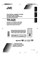 JVC TH-A25 sivu 1
