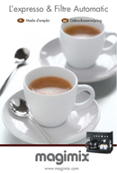 Página 1 do Magimix Espresso & Filtre Automatic