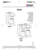 Bravilor Matic Seite 1