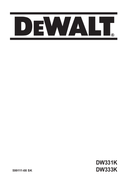 DeWalt DW331K pagina 1