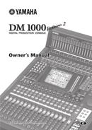 Yamaha DVX-1000 sivu 1
