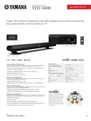 Yamaha YHT-S400 page 1