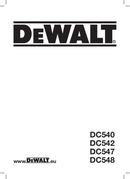 DeWalt DC548 side 1