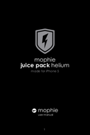 Mophie Juice pack helium for iPhone 5(s) page 1