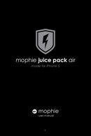 Mophie Juice pack air for iPhone 5(s) page 1