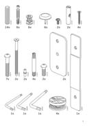 Ikea BUSUNGE side 3