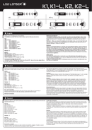 Led Lenser K2-L side 1