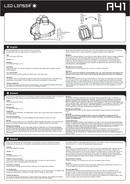 Led Lenser A41 side 1