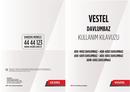Vestel ADX-6001 sivu 1