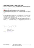 Huawei USG9520 sivu 2