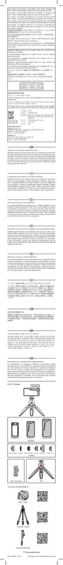 Manfrotto MLKLYP6 sivu 2