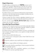 Vestel CD-S1101 W sivu 2