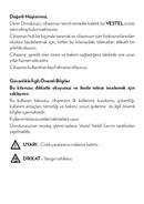 Vestel SD 400 sivu 3
