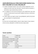 Vestel AMWX-25G sivu 2