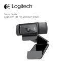 Logitech HD Pro C920 pagina 1