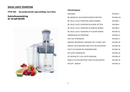 Solis Juice Fountain PremiumType 842 pagina 1