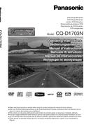 Panasonic CQ-D1703N5 page 1