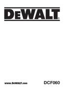 DeWalt DCF060 side 1