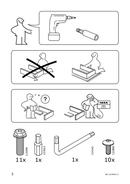 Página 2 do Ikea FLINTAN
