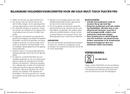 Solis Multi Touch 801 pagina 5