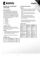 Konig KNLEDFL20W1 side 4