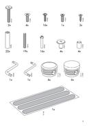 Ikea TROMSO (208X97) side 3