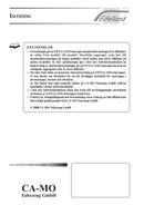 Eifelland Holiday 495 TF (2000) manual