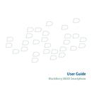 Pagina 1 del BlackBerry 8830