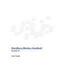 Pagina 1 del BlackBerry 8707