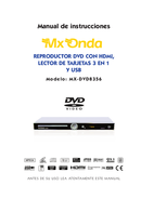 Mx Onda MX-DVD8356 side 1