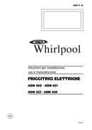 Página 1 do Whirlpool ADN 627