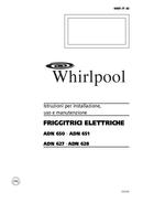 Página 1 do Whirlpool ADN 628