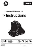 Página 1 do Thule Rapid System 754