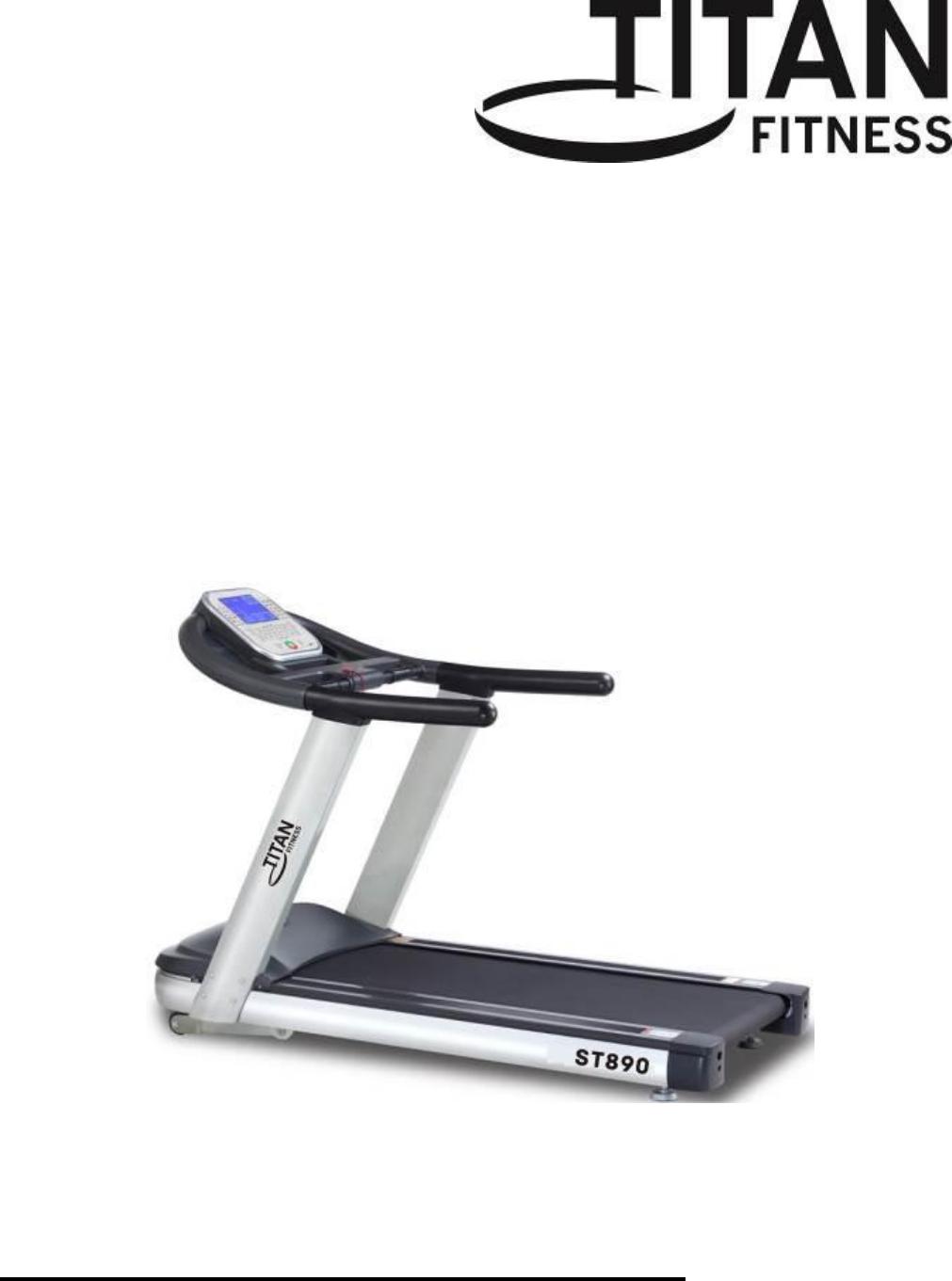 Titan Fitness ST890 manual
