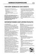 Página 3 do Whirlpool WBE 3323 NFS