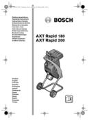 Bosch AXT Rapid 180 pagină 1